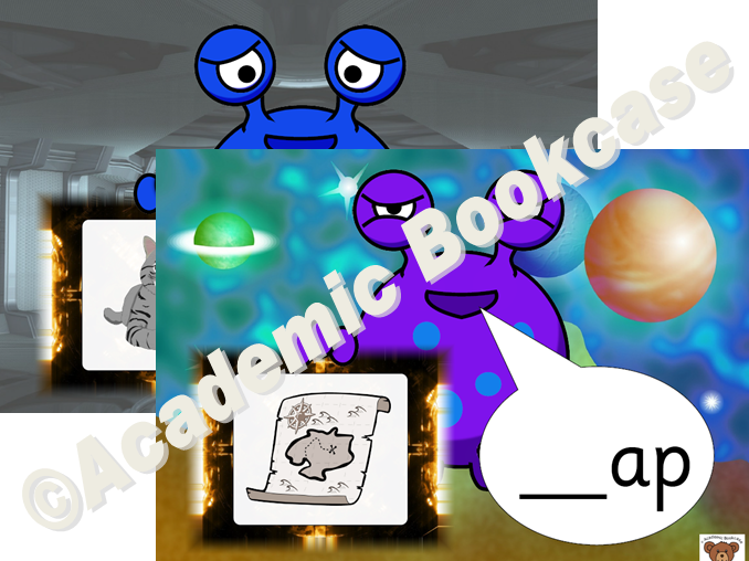 CVC words - alien - initial sounds