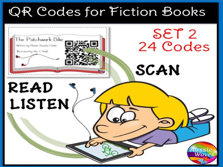 QR Codes for Listening Station Centre Activities SET 2