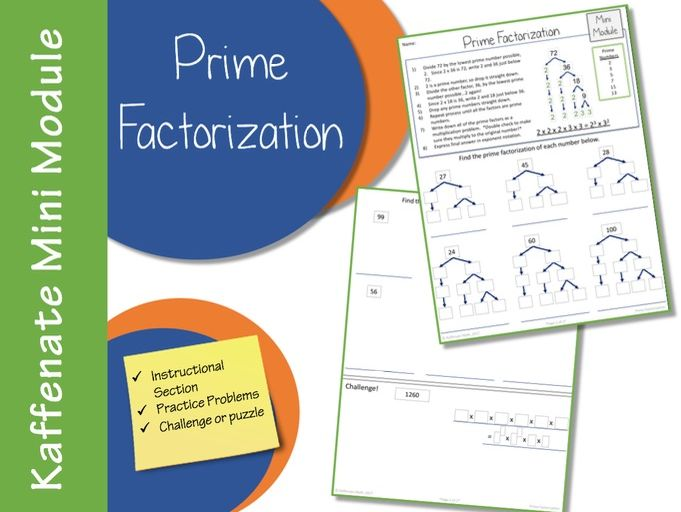 Prime Factorization (Mini Module)