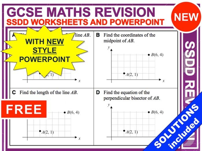 SSDD Maths Revision Questions (Set 1)