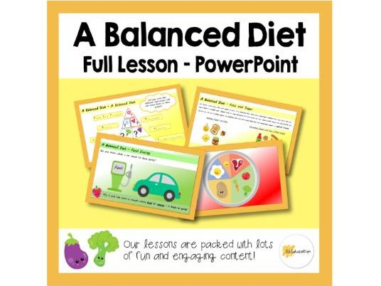 A Balanced Diet | Full Lesson | PPT | KS1 | PSHE | Download and Go!