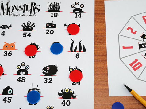 Monster Calculation Game