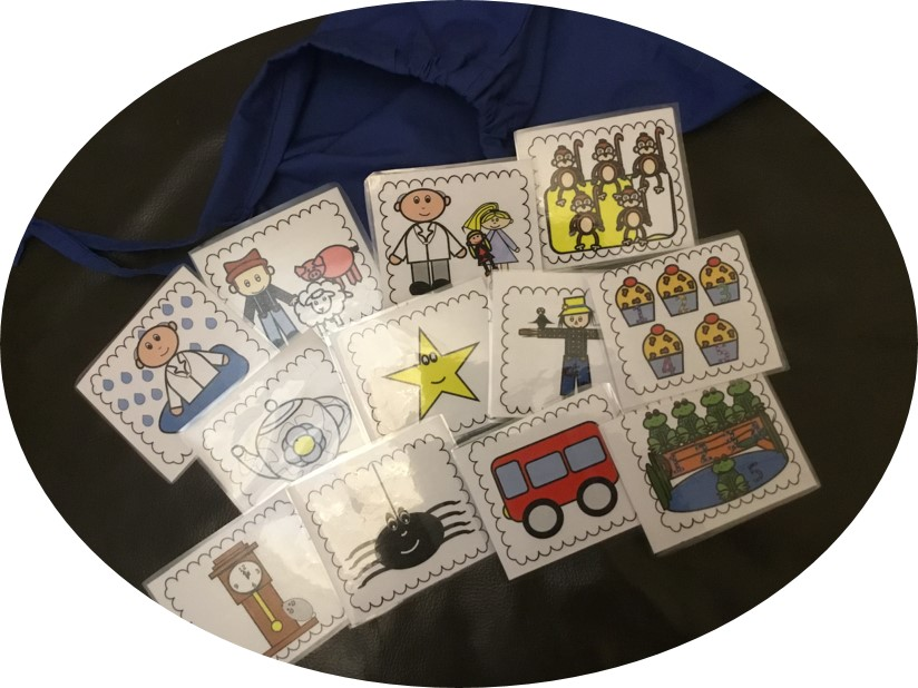 Nursery Rhyme Cards for your Song Sack