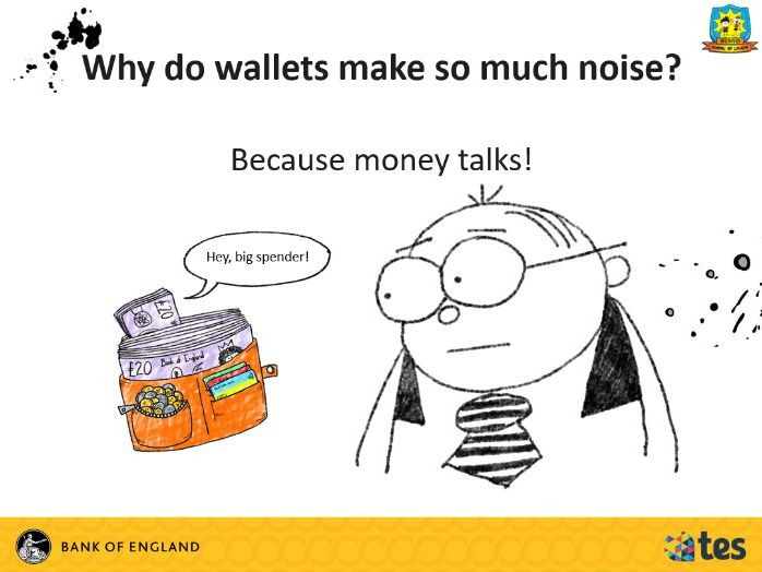 Lesson 10 Money and me - How can I keep my money safe? (English curriculum)