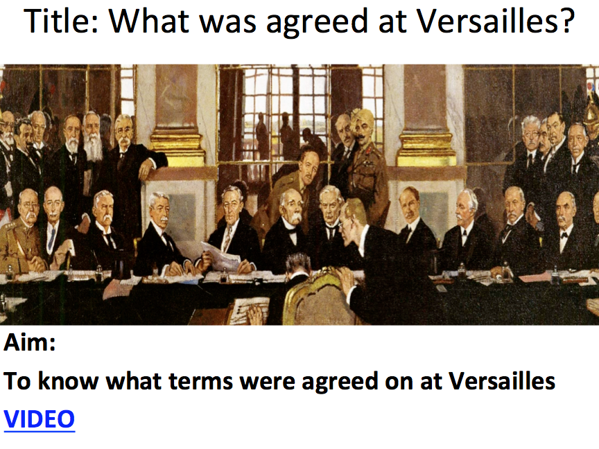 treaty of versailles 4 essay World war one was a devastation to europe, which germany was wrongfully held accounted for the treaty of versailles wasn't a treaty at all, it.