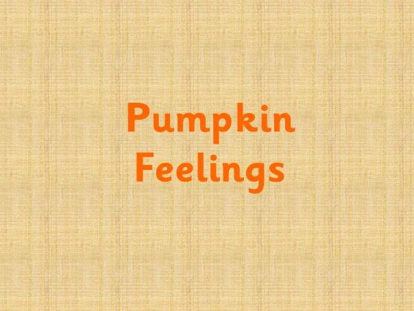 Pumpkins feelings faces