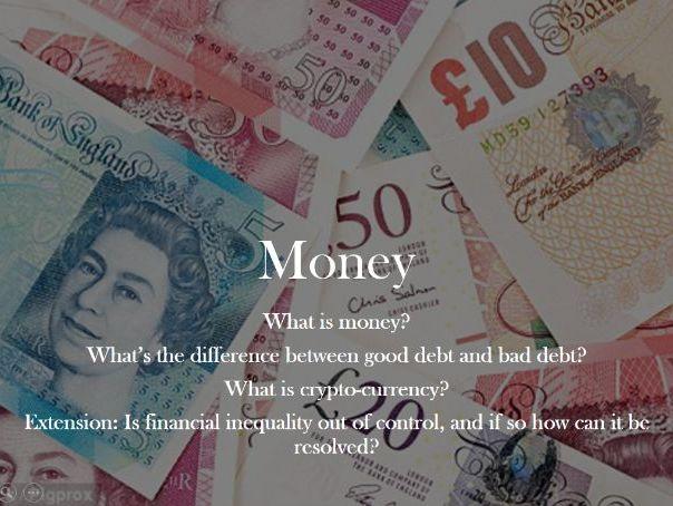 Money, Debt and inequality
