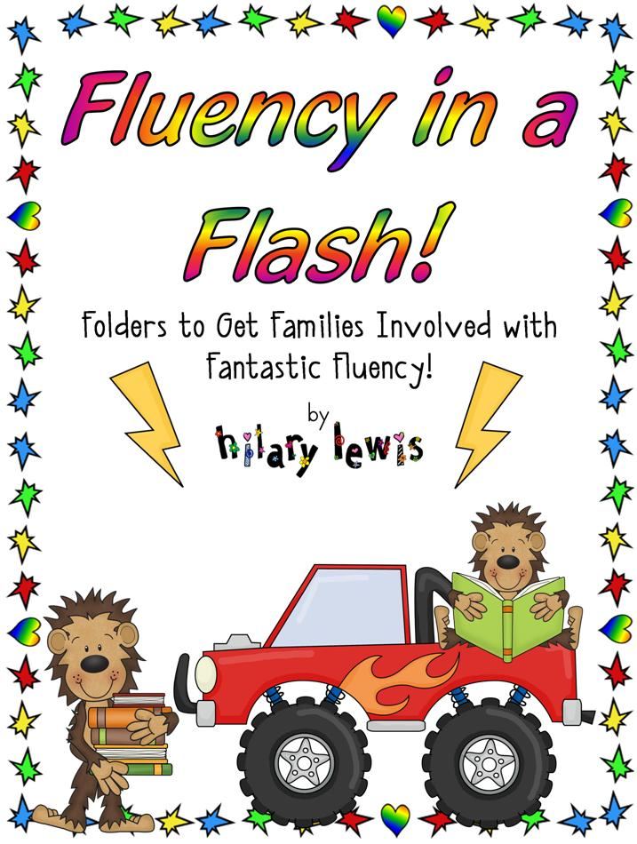 Fluency Folders to Help Get Families Involved with Fluency