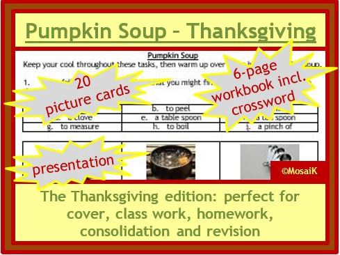 Food Tech, Cooking, Health, Food: Pumpkin Soup - The Thanksgiving Edition