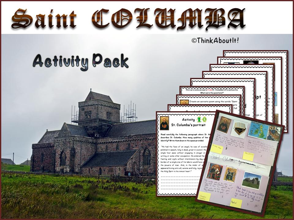 St. Columba - activity pack