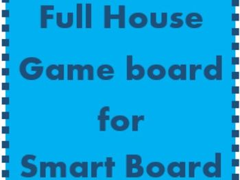 House Game Boards for Smartboard