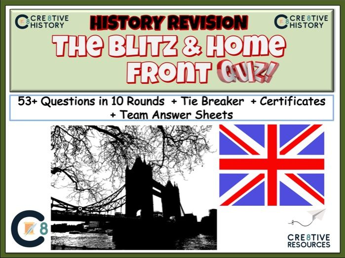 The Blitz and Home Front Revision Quiz