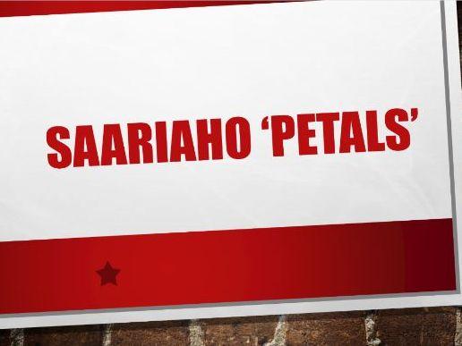 Analysis of Petals - Saariaho