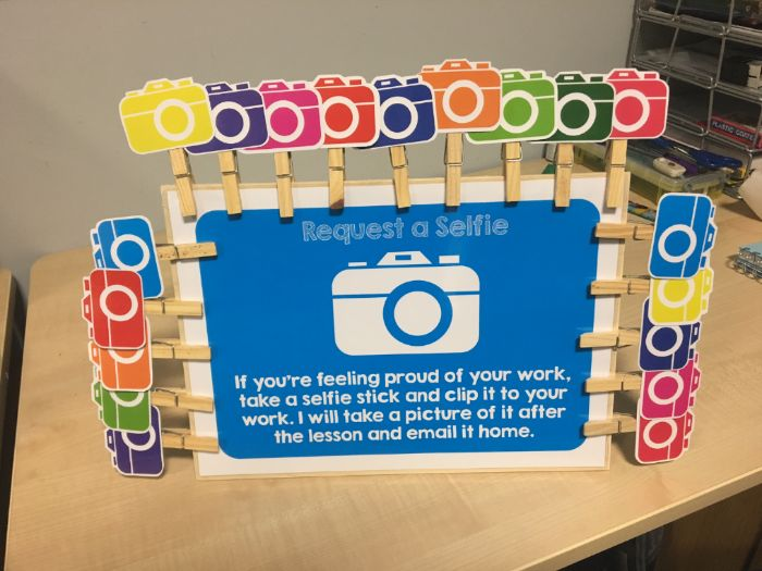Selfie Stick Resource - Celebrate Success, Self Assessment, Contact Parents