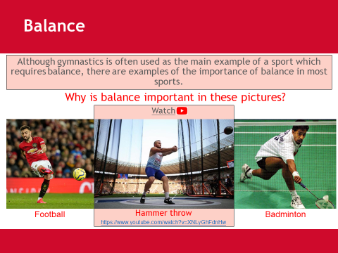 Components of Skill-related Fitness - Unit 1 - BTEC Sport