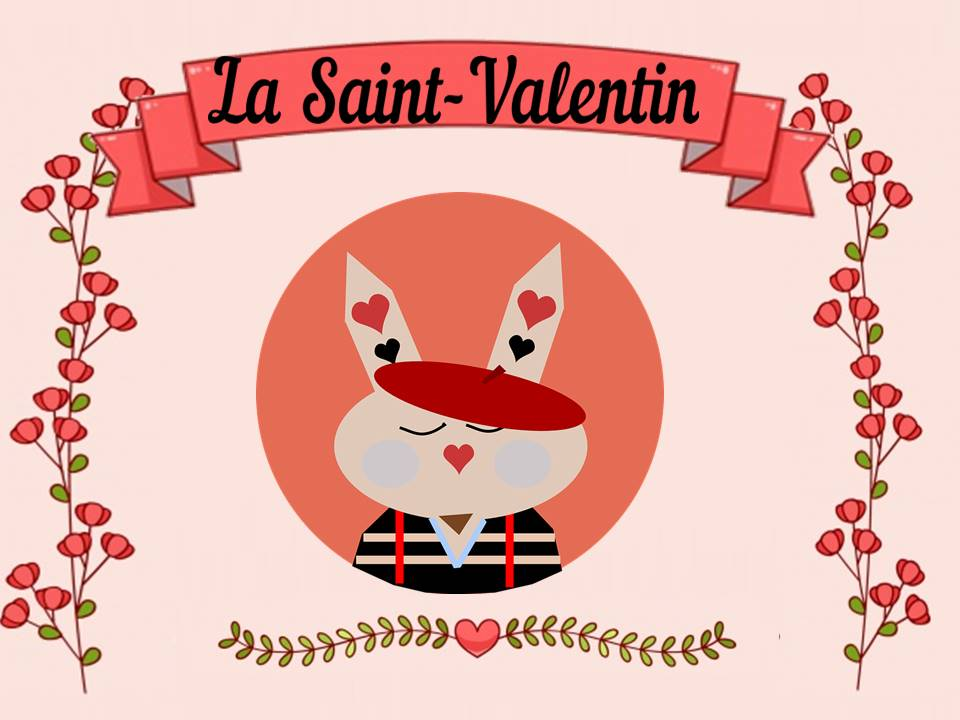 French Valentine's Day booklet