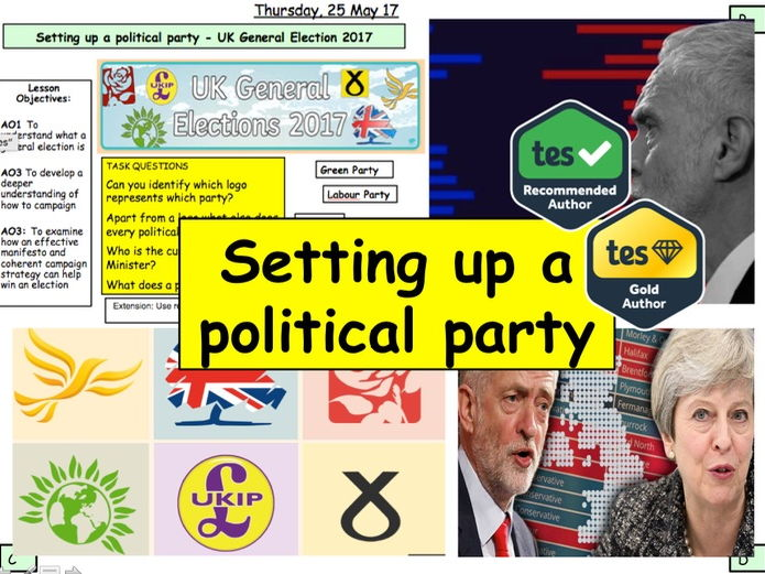 UK General Election 2017 - Setting up a Political Party: Active Citizenship Campaigning