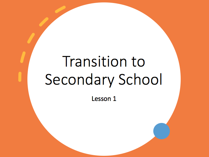 Transition to Secondary School week 1
