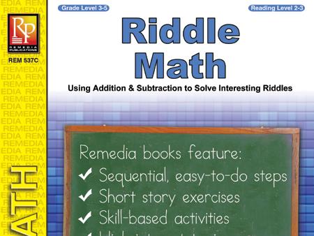 Riddle Math