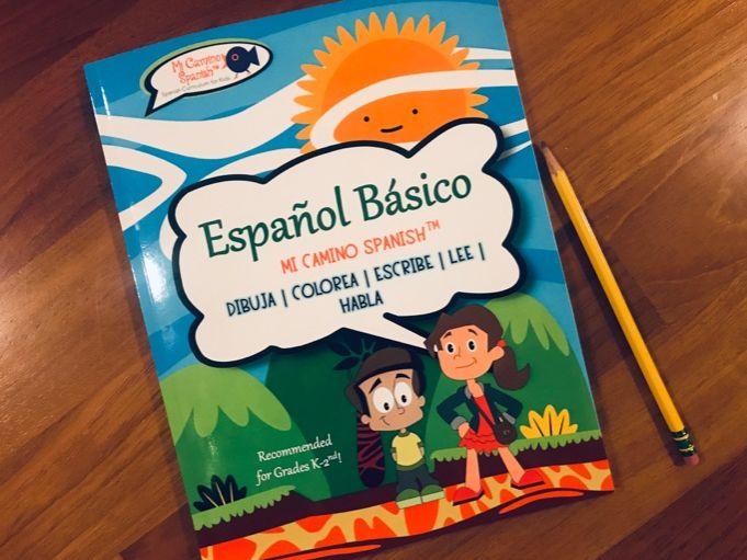 Spanish Basics Workbook (Grades K-1st) ~ Over 100 worksheets!