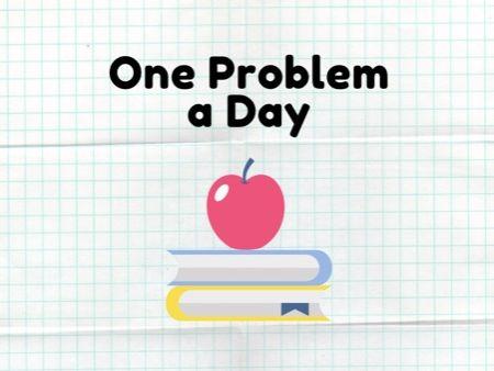 11 Plus Maths - One Problem a Day