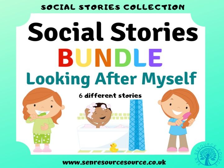 Looking After Myself Social Story Bundle