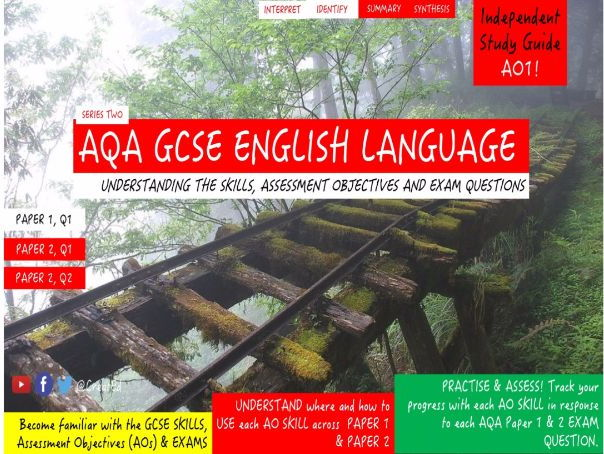 Pupil Revision Guide, NEW AQA GCSE English Language, AO1 Identify & Interpret  (ebook)