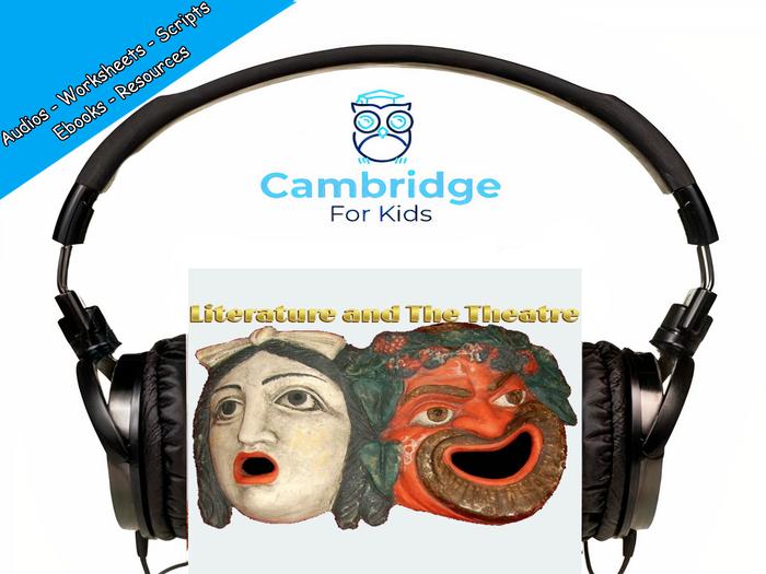 Greek Theatre & Greek Literature Audiobook & Comprehension Activities / Worksheets / eBooks