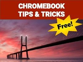 Chromebook - Tips & Tricks Handout (FREE)