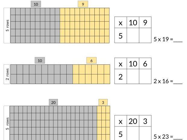 Grid Method Multiplication