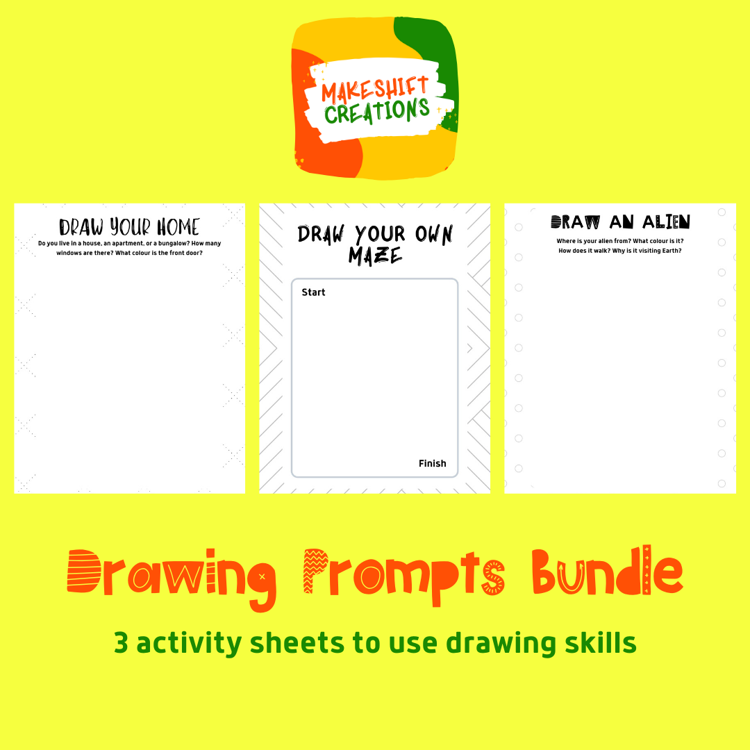 Drawing Prompts Bundle