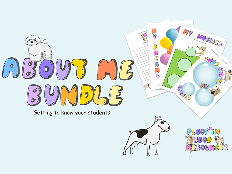 SEN Bundle - About Me Activities