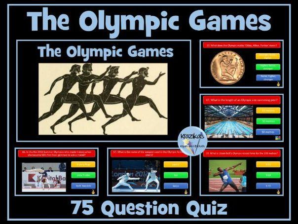 Olympic Games Quiz