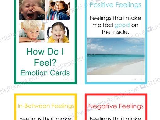 How Do I Feel? Emotions Card Set