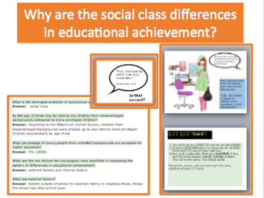 Why are there social class differences in educational achievement?A-Level Sociology