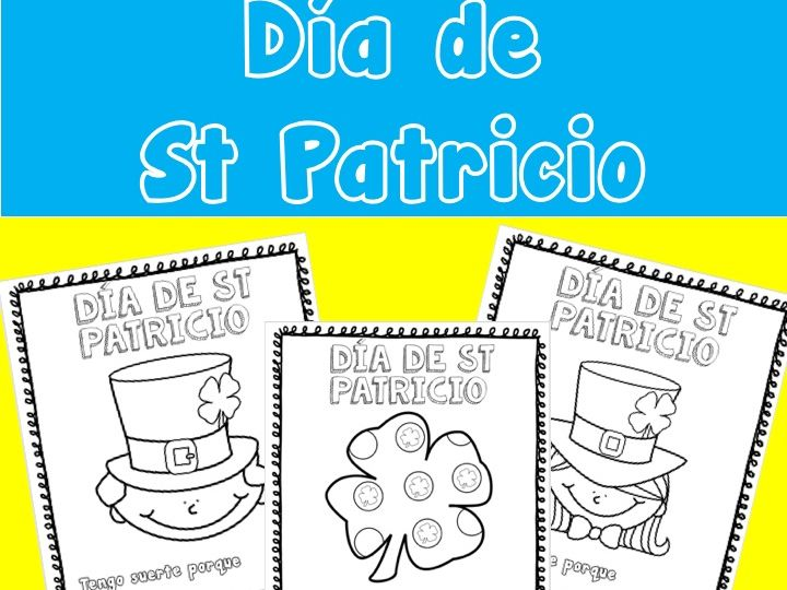 ST PATRICKS DAY SPANISH dia de st patricio
