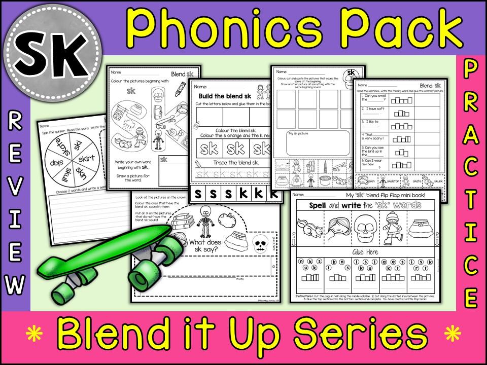 Phonics: Phonics Blend SK