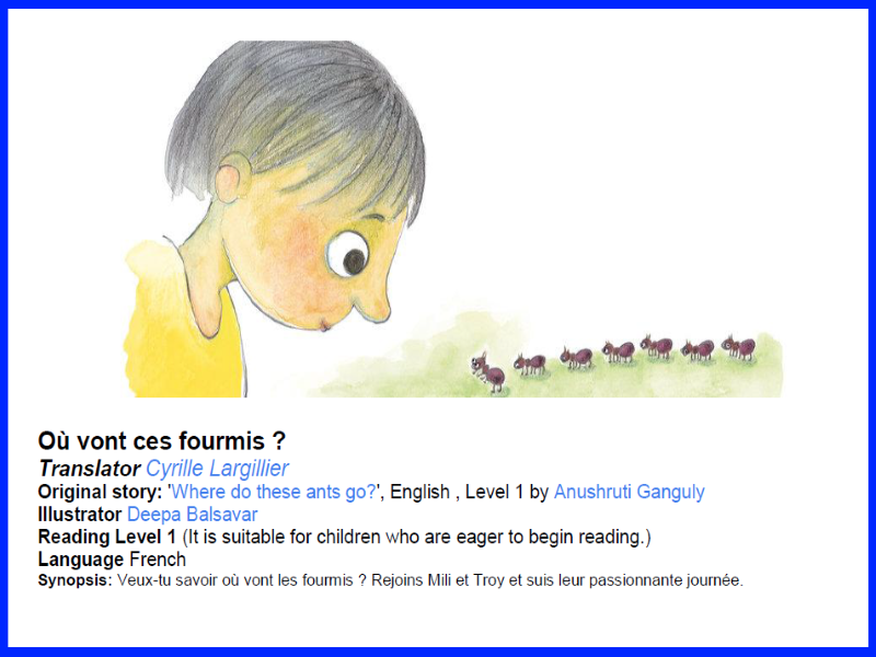 French Guided Reading Scheme For Beginners - Où vont ces fourmis ?