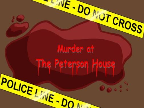 History murder mystery game. An interactive flash game perfect for all budding detectives!