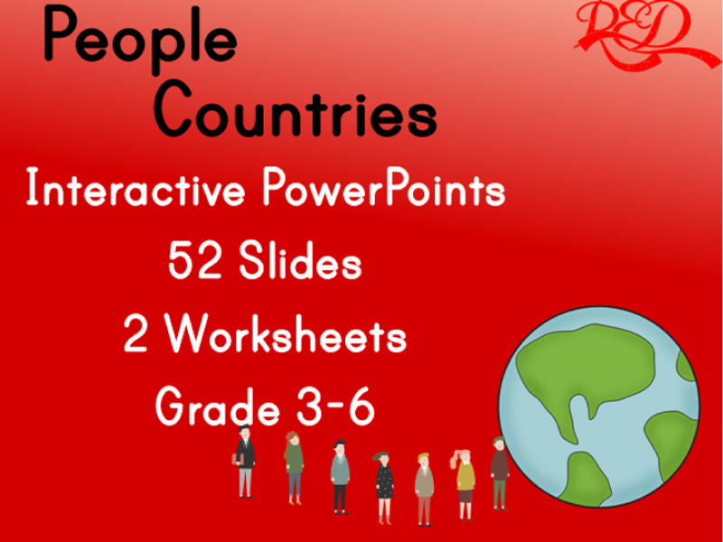 Describing People and Countries ppts