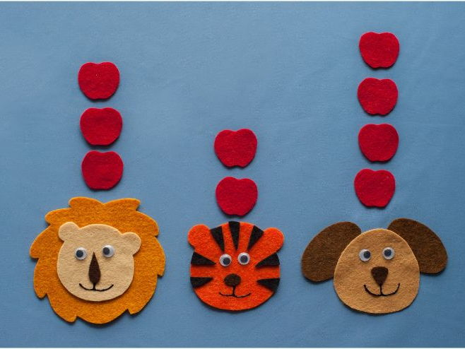 Ten Apples Up on Top Dr Seuss Felt Board Set Digital Pattern