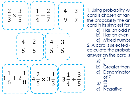 Crossover with Probability and Fractions