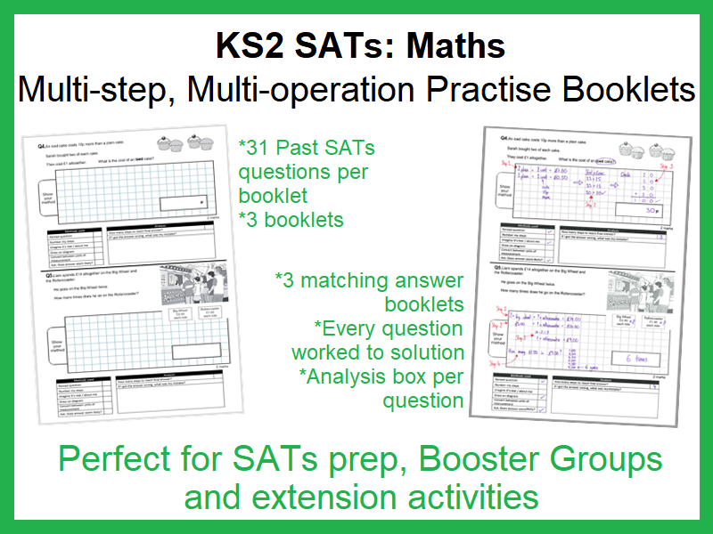 KS2 Maths SATS: '2-point' Question Practise