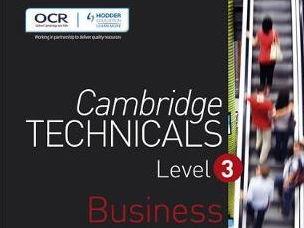 L3 Cambridge Technicals 2016 Exam unit student workbooks