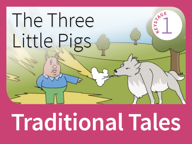 The Three Little Pigs - Underdog Tales (Traditional Tales)