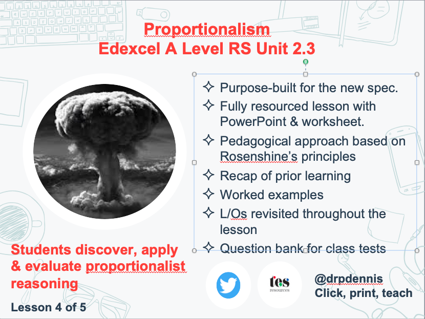 Proportionalism (Edexcel new spec)