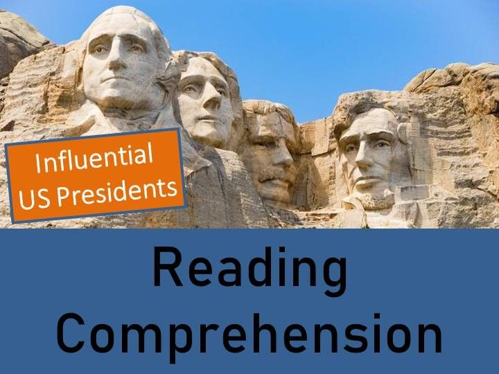 Influential US Presidents - Year 5/6 Reading Comprehension Book