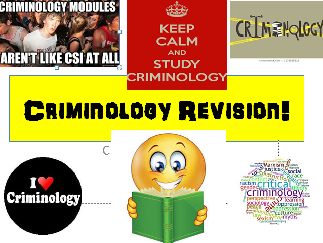 Criminology (NEW SPEC)Unit 2 EXAM UNIT- Criminological Theories-END OF UNIT REVISION