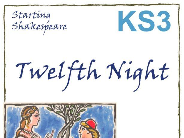 Starting Twelfth Night Scheme of Work
