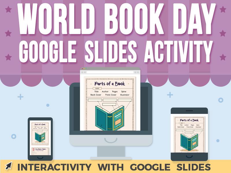 World Book Day Activity - Google Slides